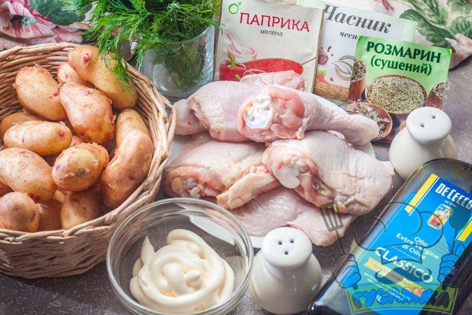 Молода картопля запечена в духовці робиться з цього