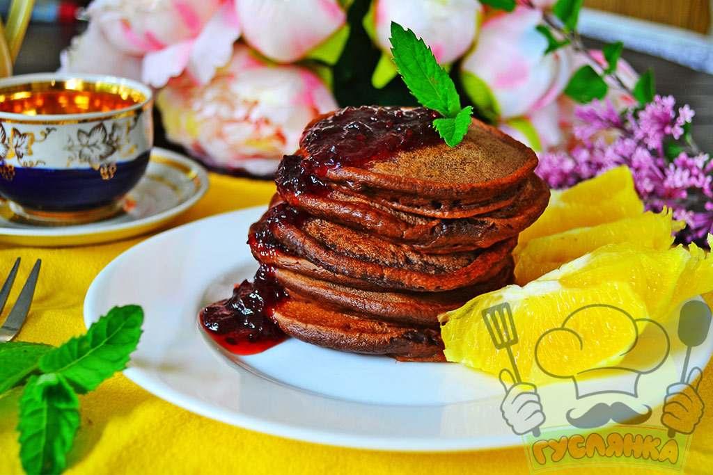 Шоколадні оладки на сніданок