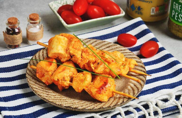 Курячі шашлички з пастою «Тікка Масала»