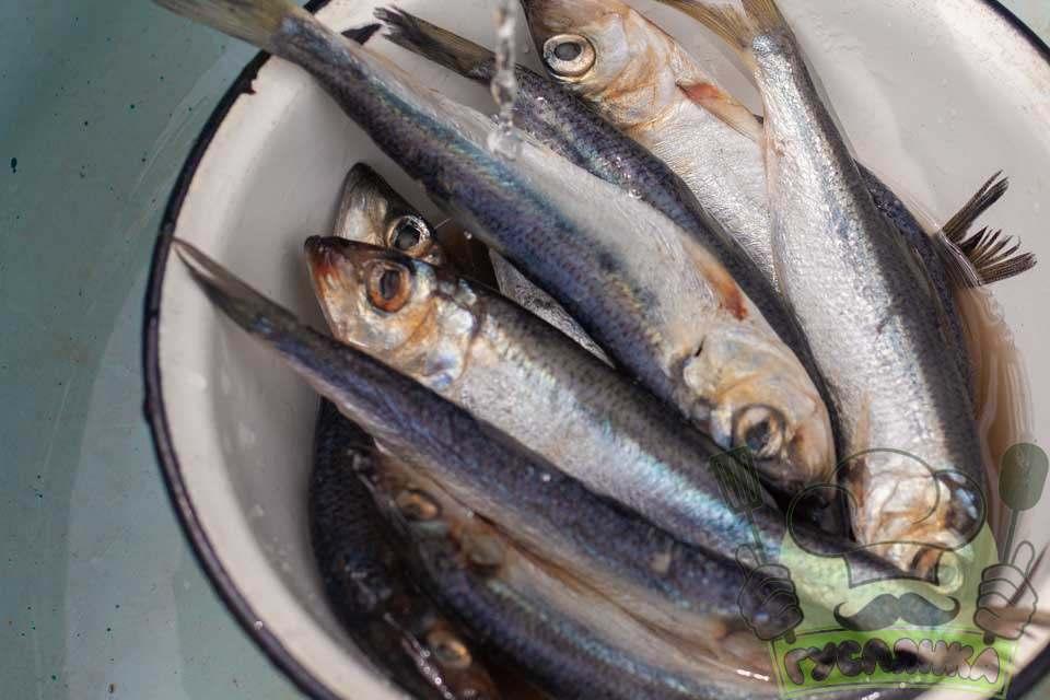 через годину рибу гарно мию від солі