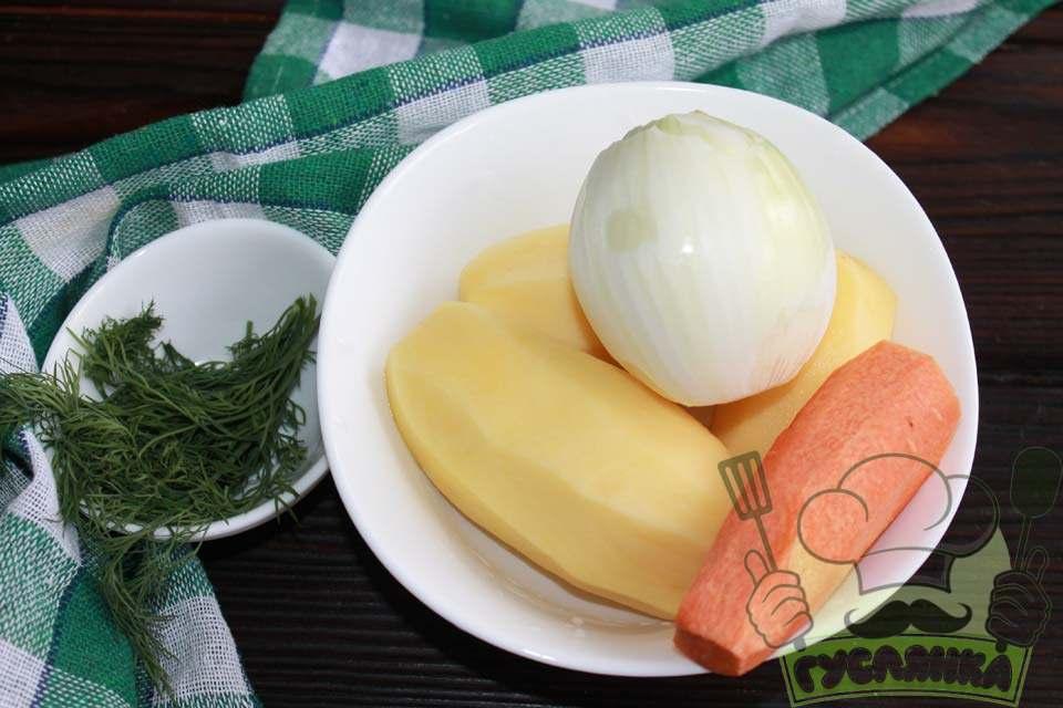 овочі очищую, мию, зелень обполіскую